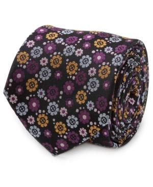 Men's X-Men Floral Charcoal Tie