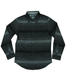 Big Boys Woodburn Striped Woven Shirt