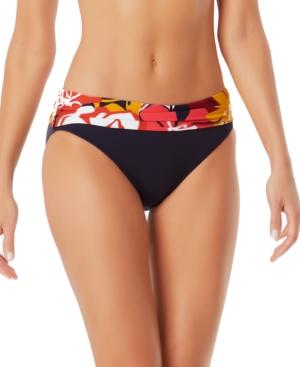 Wallflower Foldover Bikini Bottoms Women's Swimsuit