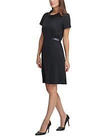 Karl Lagerfeld Cowl-Neck Dress