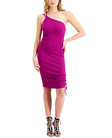 Annika Asymmetrical Ribbed Dress