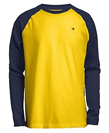Big Boys Raglan Long Sleeve T-Shirts