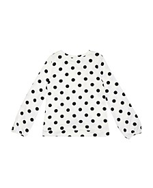 Big Girls Long Sleeve Hachi Twist Front Top