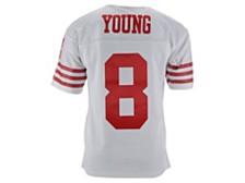 San Francisco 49ers Men's Replica Throwback Jersey Steve Young
