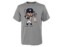 Houston Astros Youth Pixel Player T-Shirt - Alex Bregman