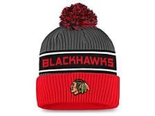 Chicago Blackhawks 2020 Locker Room Pom Knit