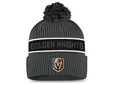 Vegas Golden Knights 2020 Locker Room Pom Knit Hat