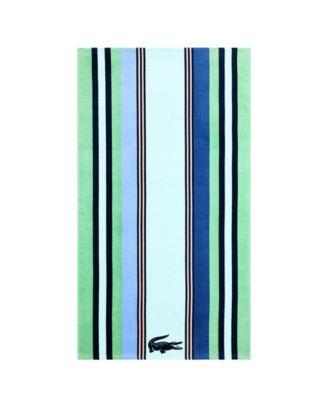 Seashore Cotton Cool Stripe Beach Towel