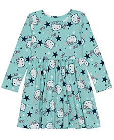 Toddler Girls Star Wonderland Long Sleeve Dress