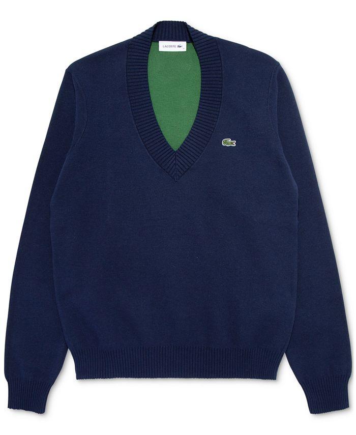 Lacoste - V-Neck Sweater