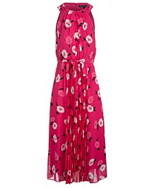 INC Floral-Print Chiffon Maxi Dress, Created for Macy's