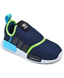 Toddler Boys NMD 360 Slip-On Casual Sneakers from Finish Line