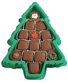 Christmas Tree Chocolate Meltaways