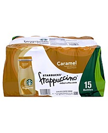 Caramel Frappuccino Coffee Drink, 9.5 oz, 15 Count