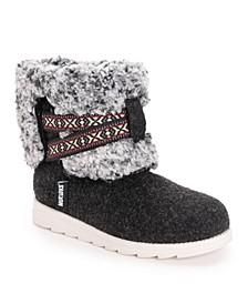 Women's Tamara Cold Weather Furry Booties
