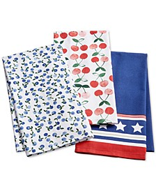 Grilling Kitchen/BBQ Towels, Set of 3, Created for Macy's