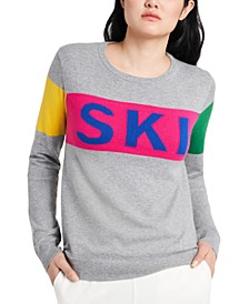 Colorblocked Ski Sweater, Created for Macy's