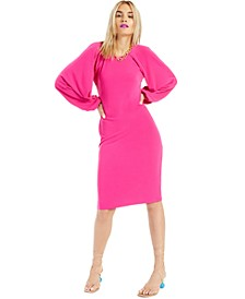INC Raglan-Sleeve Knit Dress, Created for Macy's