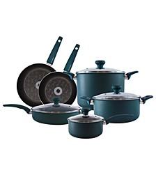 10-Piece Non-Stick Aluminum Cookware Set