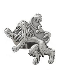 Men's Lannister Lion Antiqued Lapel Pin