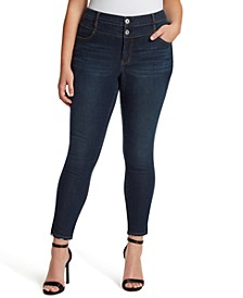 Trendy Plus Size Adored High Rise Skinny Jeans