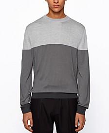 BOSS Men's T-Dinunzio Colorblock Sweater