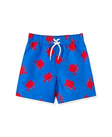 Baby Boys Crab Swim Trunks