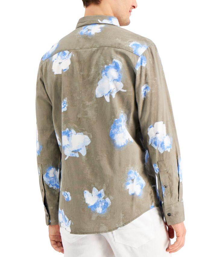 INC International Concepts INC Men's Josiah Floral Shirt, Created for Macy's & Reviews - Casual Button-Down Shirts - Men - Macy's