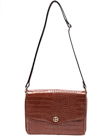 Croco Envelope Crossbody, Created for Macy's