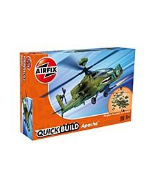 Apache Helicopter Brick Building Plastic Model Kit - J6004