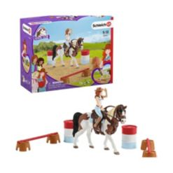 Schleich, Horse Club, Hannah's Western Riding Playset with Toy Figurines