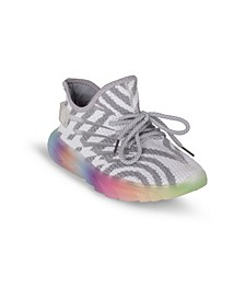 Women's Galaxy Striped Knit Sneakers