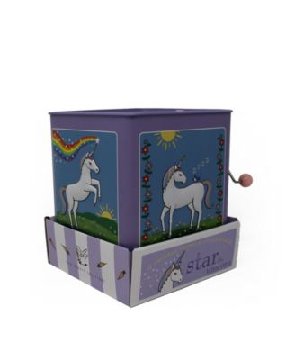 Jack Rabbit Creations Inc. Star The Unicorn Jack in The Box Toy