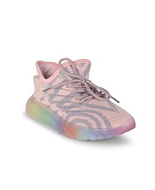 Women's Galaxy Striped Knit Sneakers