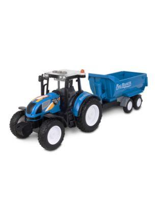 Nkok Big Ranch Farm Tractor with Wagon Toy