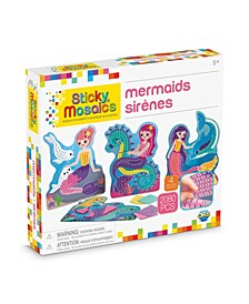 Mermaid Design Mosaic Craft by Numbers Kit - 2080 Pieces