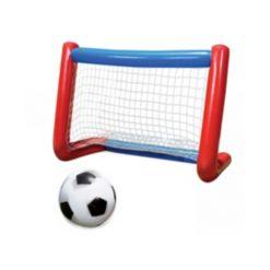 Banzai Mega All-Star Soccer Set - Inflatable Goal and Ball