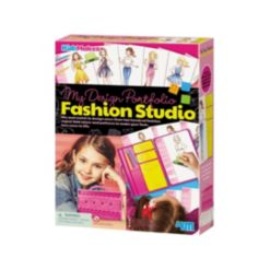 4M Kidzmaker My Design Portfolio Fashion Studio Kit