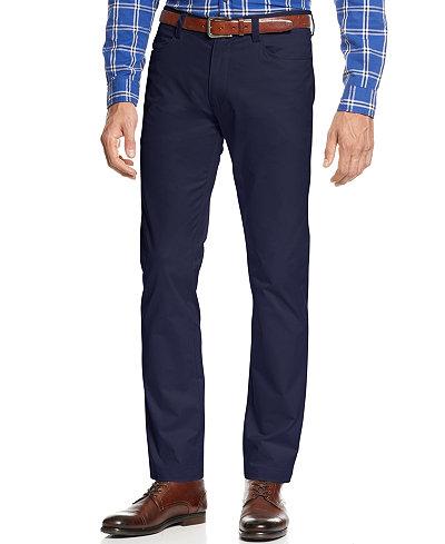 Calvin Klein Men's Sateen Slim-Fit Stretch Pants