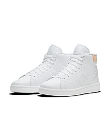 Women's Court Royale 2 Mid High Top Casual Sneakers from Finish Line