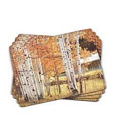 Birch Beauty Placemats, Set of 4