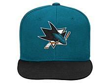 San Jose Sharks Youth Basic 2T Snapback Cap