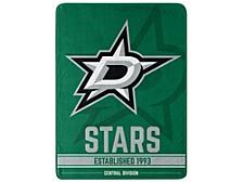 Dallas Stars Micro Raschel Break Away Blanket