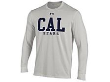 Men's University of California Golden Bears Performance Cotton Long-Sleeve T-Shirt