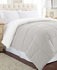 Down Alternative Reversible Comforter, Twin