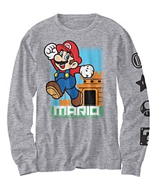 Big Boys Mario Leaps Out T-shirt