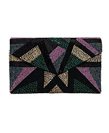 Fully Beaded Front Envelope Clutch