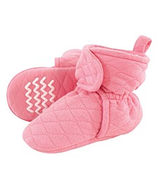 Boys and Girls Quilted Booties