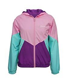 Big Girls Colorblock Windbreaker Jacket