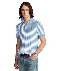Men's Custom Slim-Fit Soft Cotton Polo Shirt